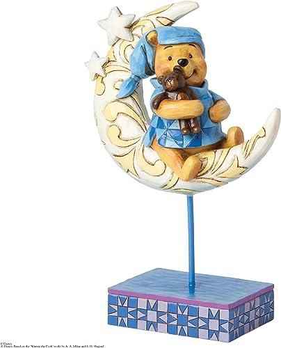 Jim Shore Disney Winnie the Pooh On the Moon Bedtime Bear Figurine 4038499 New