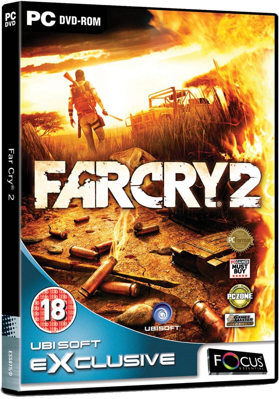 far cry 2 dvd cover