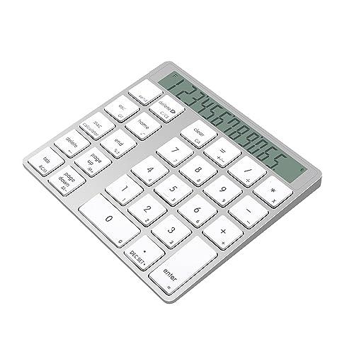 Cateck アルミニウム製 電卓機能付きワイヤレス
