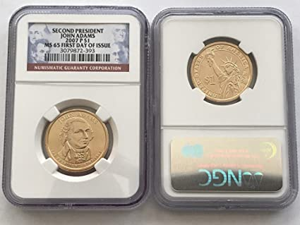 2007 P Thomas Jefferson Presidential Dollar NGC MS65 FDI