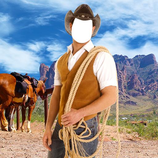 (Cowboy Photo Montage)
