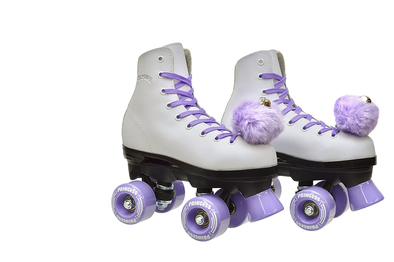 Quad roller skates amazon - Amazon Com Epic Skates Purple Princess Girls Quad Roller Skates White Adult 5 Sports Outdoors