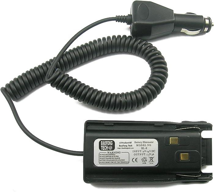 BTECH BL-8 Battery Eliminator with DC Adapter for UV-82HP, GMRS-V1, MURS-V1, UV-82C, UV-82