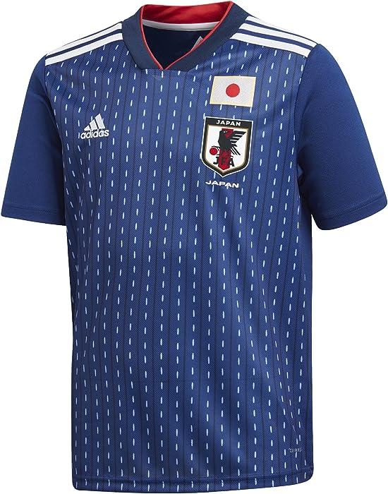 8f5b14cffa7 Amazon.com : adidas Japan National Team 2018 WC Home Junior Boys ...