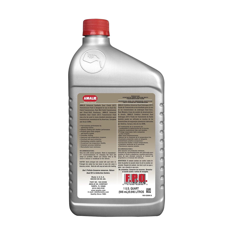 Amalie Universal sintética doble embrague (SES) líquido de transmisión: Amazon.es: Coche y moto