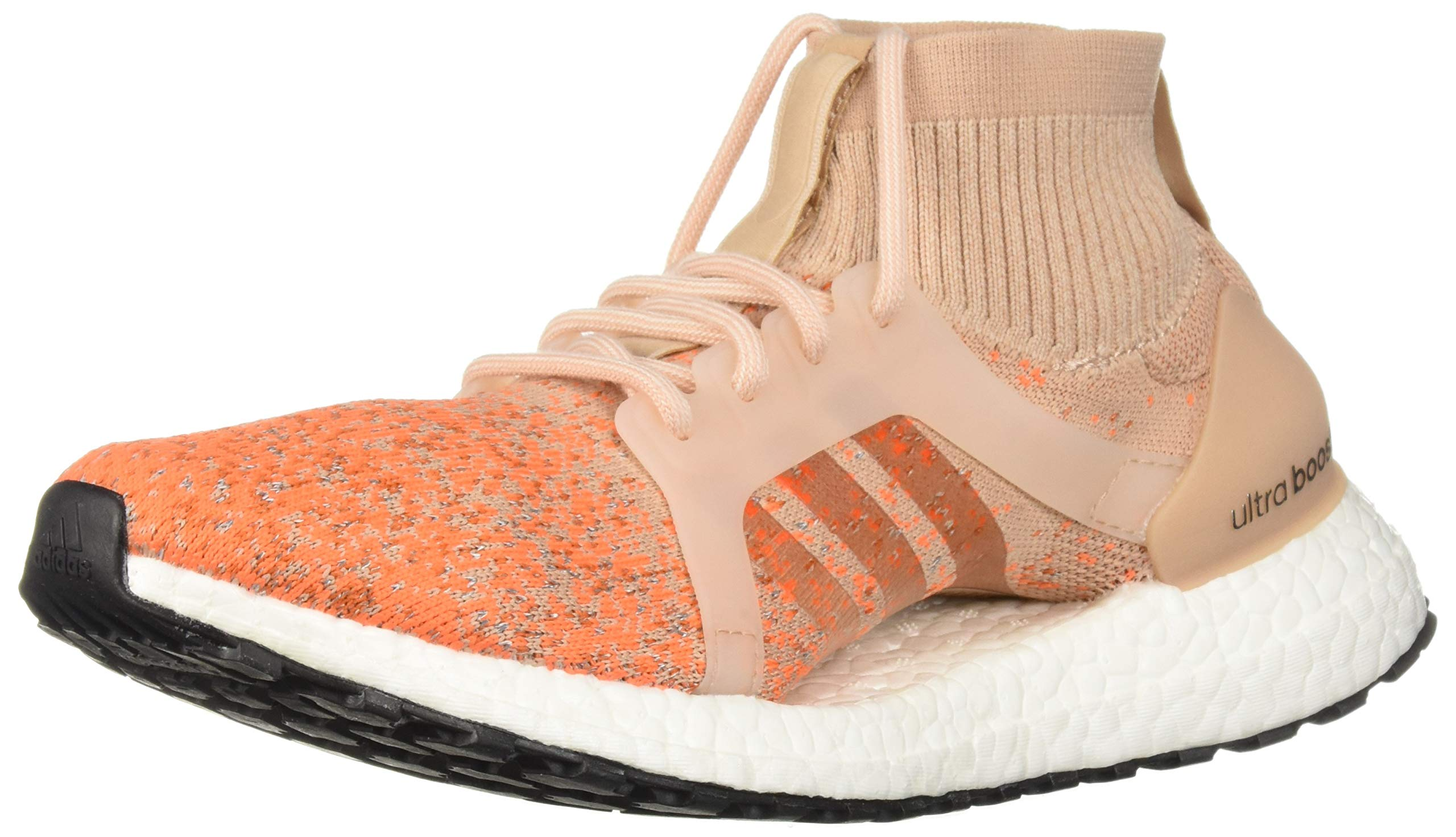 adidas Women's Ultraboost X All Terrain LTD, Ash PearlAsh PearlTrace Orange, 9.5 M US