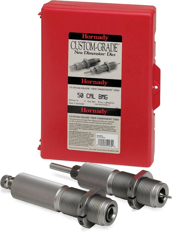 Hornady 546266 DIESET 2 25-35 WIN Winchester Custom Grade Reloading DIE Set (Series III Two-Die Set) (.257)