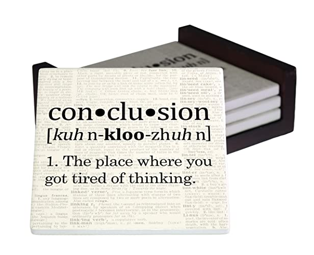 the definition of conclusion