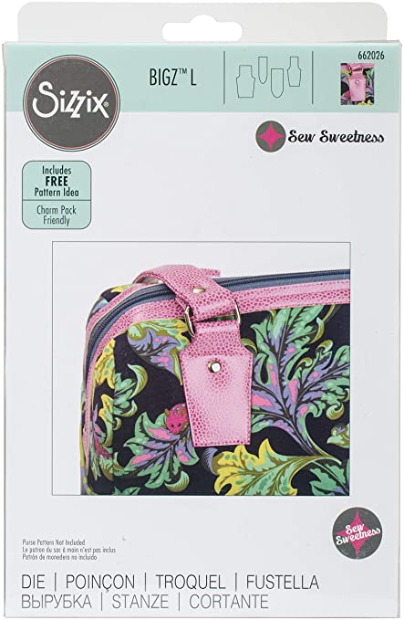 Sizzix Purse Tabs by Sara Lawson Bigz Dies Fabi Edition, Large