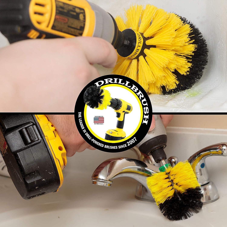 Spin Brush Bathroom Bath Mat Bathtub Grout Cleaner Cleaning Supplies Drill Brush Shower Curtain Bathroom Accessories Tile Shower Door Shower Cleaner Baseboard Sink Flooring