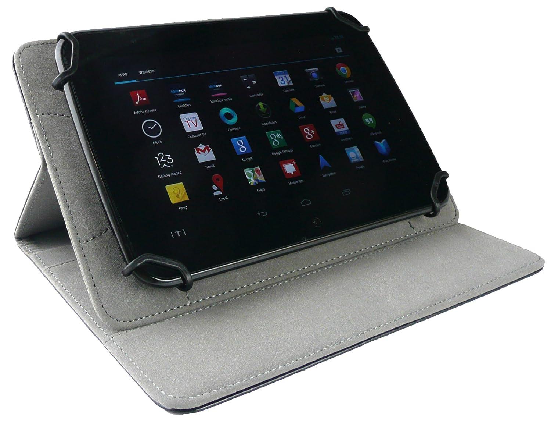 Hot Rosa L/ápiz /Óptico Emartbuy/® LG G Pad X 8.3 Inch Tablet Universal Range Lunares Hot Rosa//Blanco /Ángulo M/últiples Executive Folio Funda Carcasa Wallet Case Cover con Tarjeta de Slots