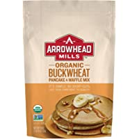 Arrowhead Mills 荞麦煎饼和华夫饼混合物,26 盎司(约 737.1 克)(6包)