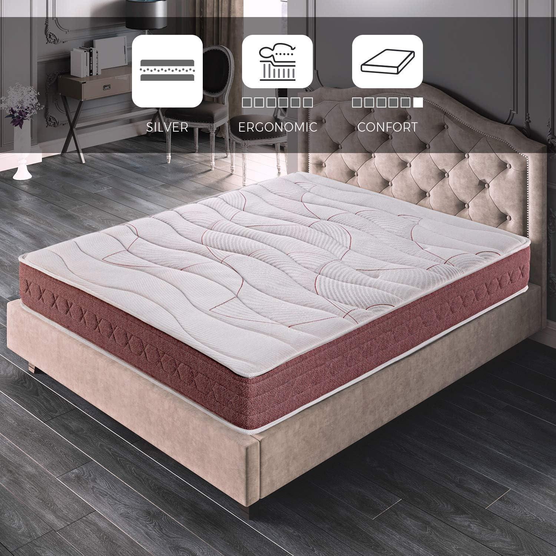 ROYAL SLEEP Colchón viscoelástico 135x190 firmeza Media, Alta Gama, Confort y adaptabilidad Total, Altura 24cm - Colchones Dormant Premium