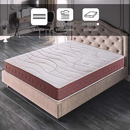 ROYAL SLEEP Colchón viscoelástico 105x190 firmeza Media, Alta Gama, Confort y adaptabilidad Total, Altura 24cm - Colchones Dormant Premium