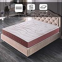 ROYAL SLEEP Colchón viscoelástico 80x182 firmeza Media, Alta Gama, Confort y adaptabilidad Total, Altura 24cm…