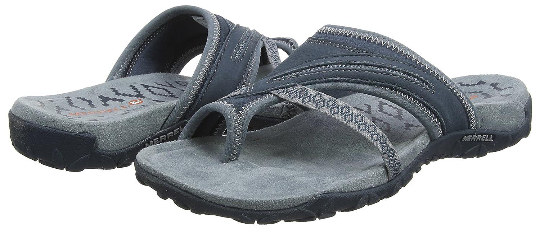 Merrell Women's Terran Post II Sandal B076QF52QY 7 B(M) US|Slate