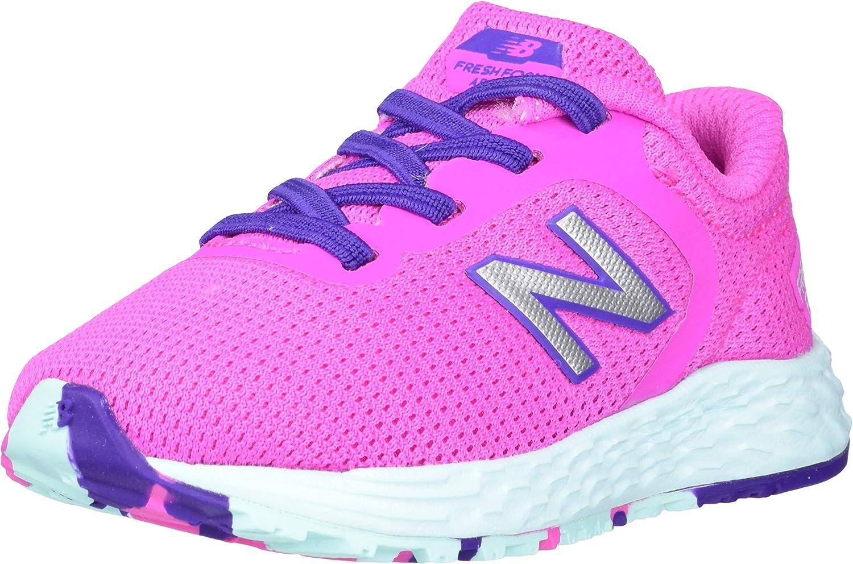 New Balance Unisex-Child Fresh Foam Roav V1 Lace-up Running Shoe