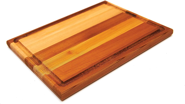 Amazon Com Grillpro 00410 Cedar Steak Board Cutting Boards Garden Outdoor