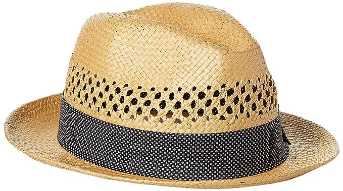 Nick Graham Men s Jorge Vented Straw Fedora at Amazon Men s Clothing ... ba3765af316