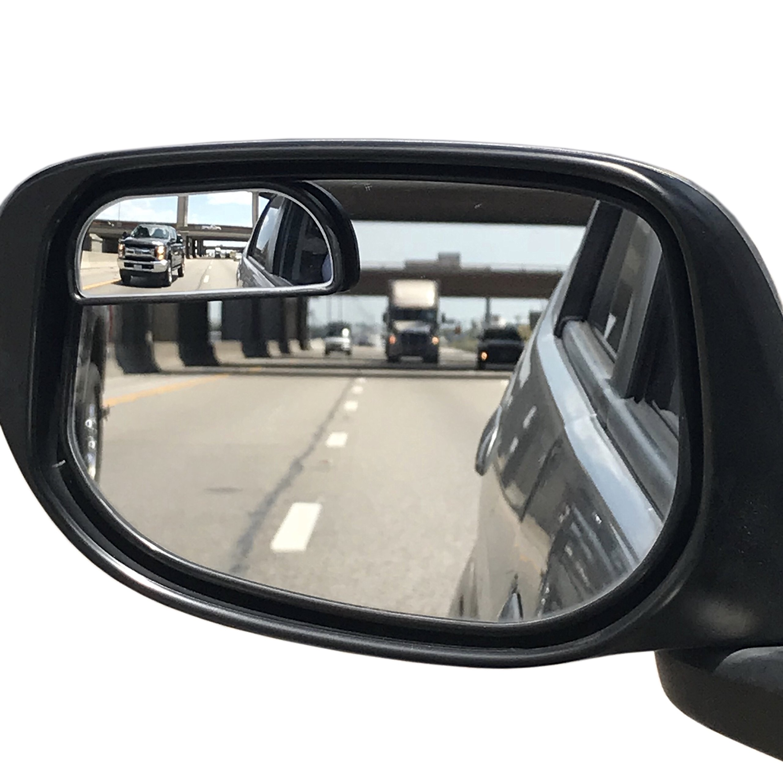Utopicar Blind Spot Mirrors – Updated Design - Car Mirror for Blind Side - Door Mirrors for Large Image [Adjustable] (2 Pack)