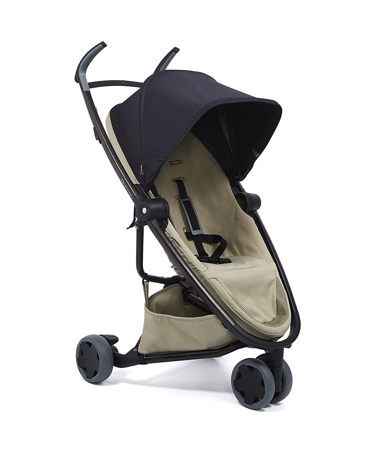Quinny Zapp Flex Lightweight City Stroller Graphite on Grey 6 Months to 3.5 Years Two-Way Seat Compact Folding