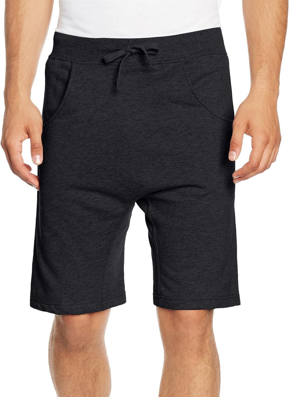 Urban Classics Light Deep Crotch Sweatshorts Pantalones Cortos para Hombre