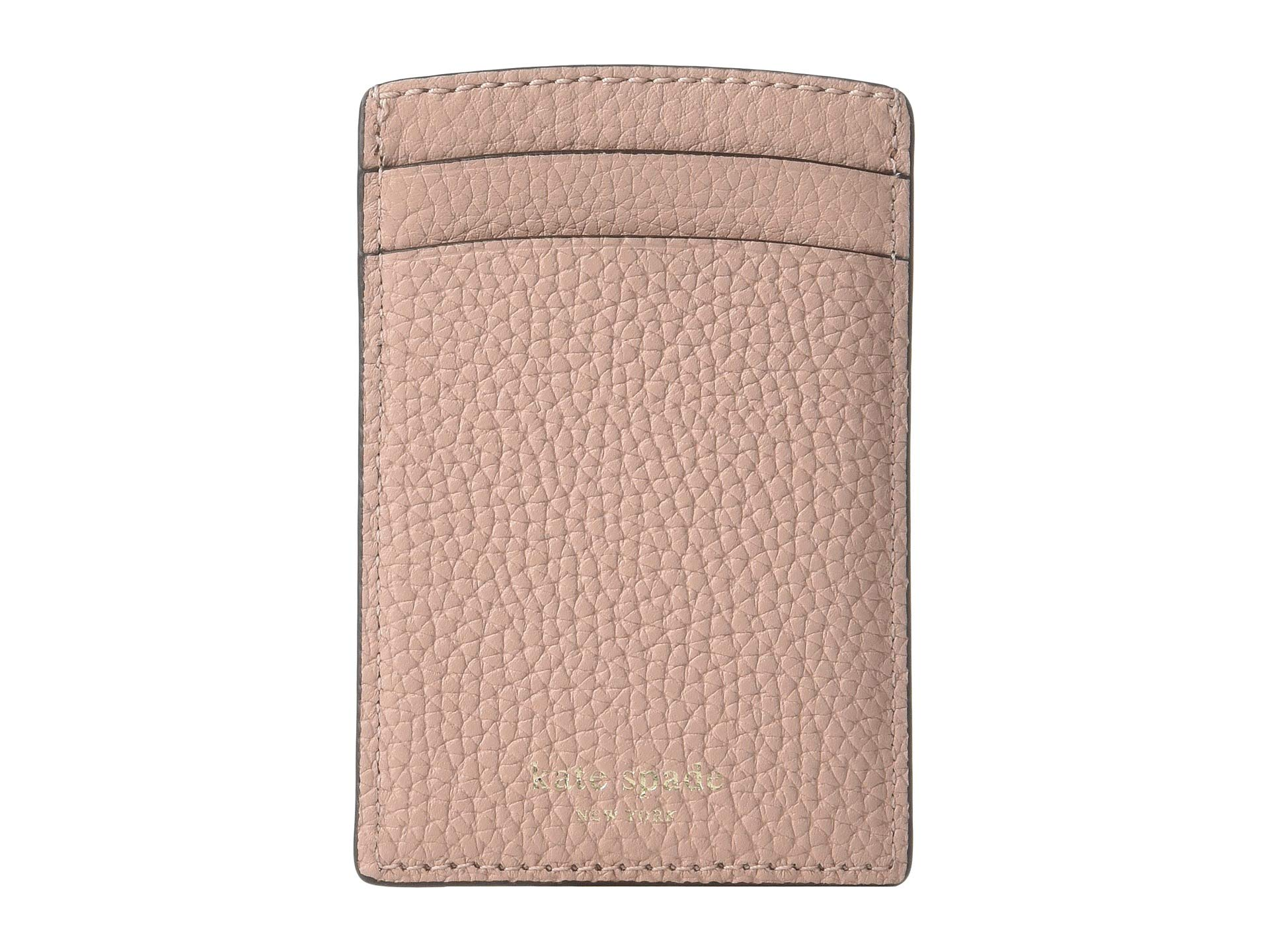 Kate Spade New York Women's Polly Card Holder, Flapper Pink, One Size