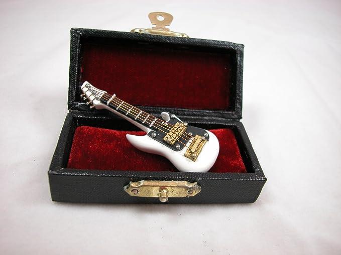 1//12 Dollhouse Mini Electric Guitar For Doll House Toy DIY Red De R8H9 Fine G1E5