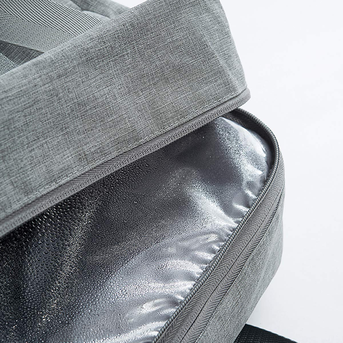 Vaincre Swim Bag, Dry Wet Area & Shoe Compartment Separated Waterproof Duffle Bag for Gym, Pool, Beach by Vaincre (Image #3)