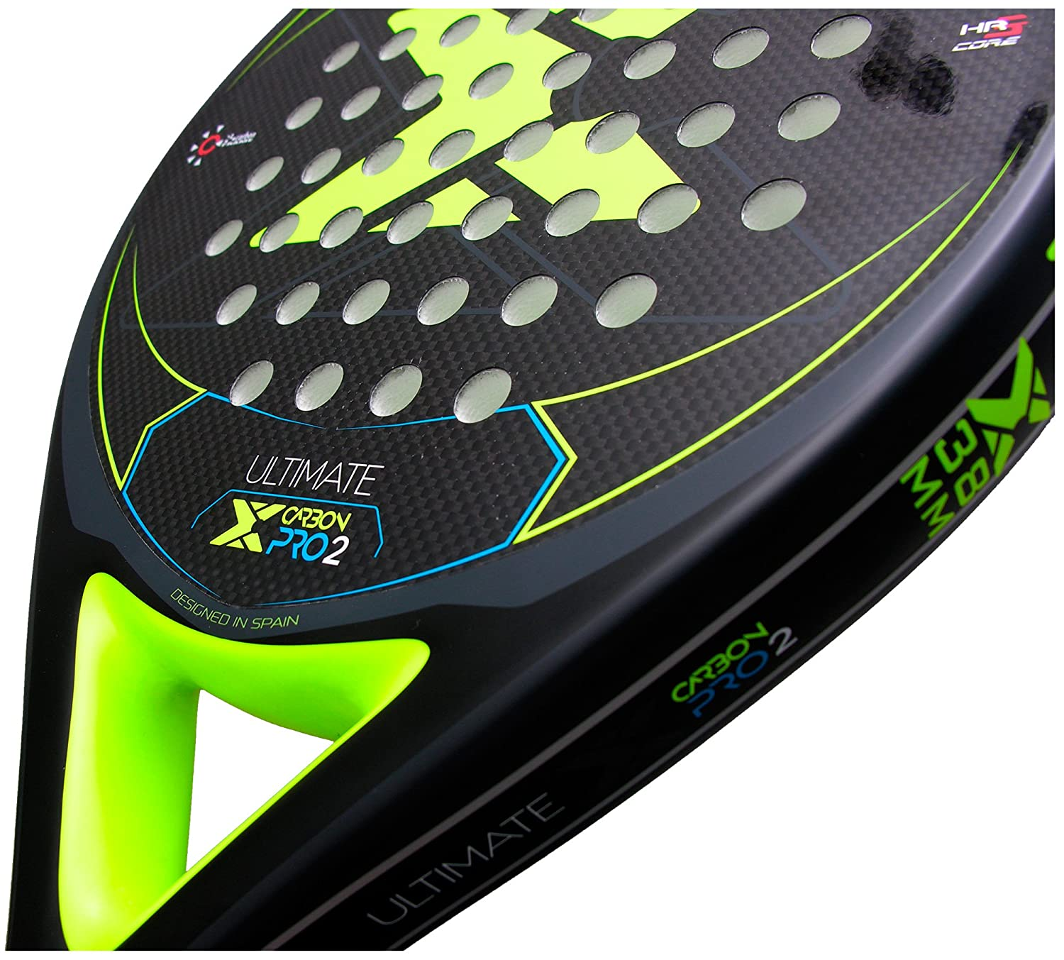 Pala pádel Nox Ultimate Carbon Pro 2 Yellow: Amazon.es: Deportes y ...
