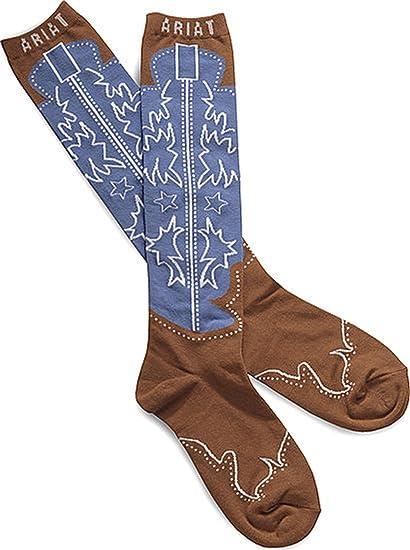 05e9ab1e258 Ariat Women's Calf Boot Novelty Sock