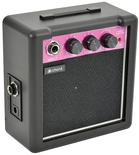 Mini amplificador para guitarra 2-CG pile. Con control de volumen ...