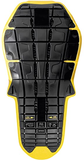 SPIDI Back Warrior Evo Inside, Negro/Amarillo, talla TU ...