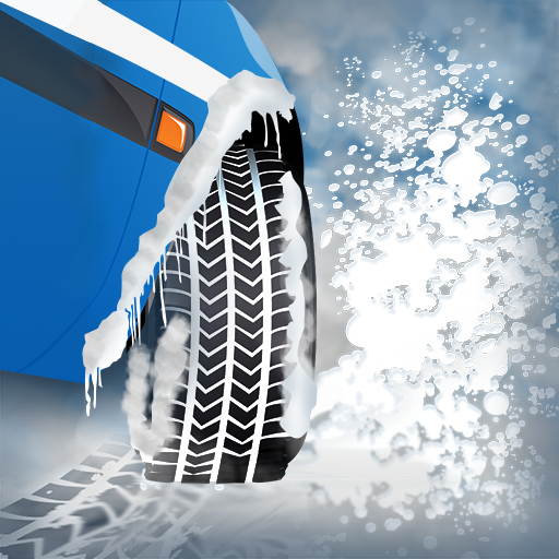 Traction Racing (Winter Snow Tires Agility Race : The Arctic Car Ice Traction Road - Free Edition)