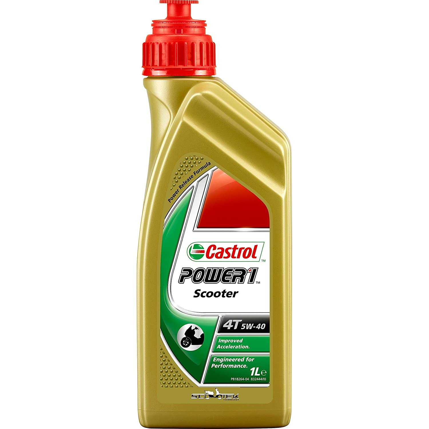 Castrol Power Scooter 4T 5W40 (1 litro) Castrol Limited 55879