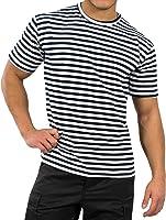 T-shirt à col rond, motif marine russe. Tailles S–XXXL