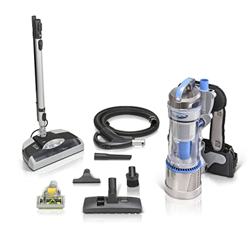 Prolux 2.0 Bagless Backpack Vacuum with Electric Power Nozzle for Carpet Cleaning