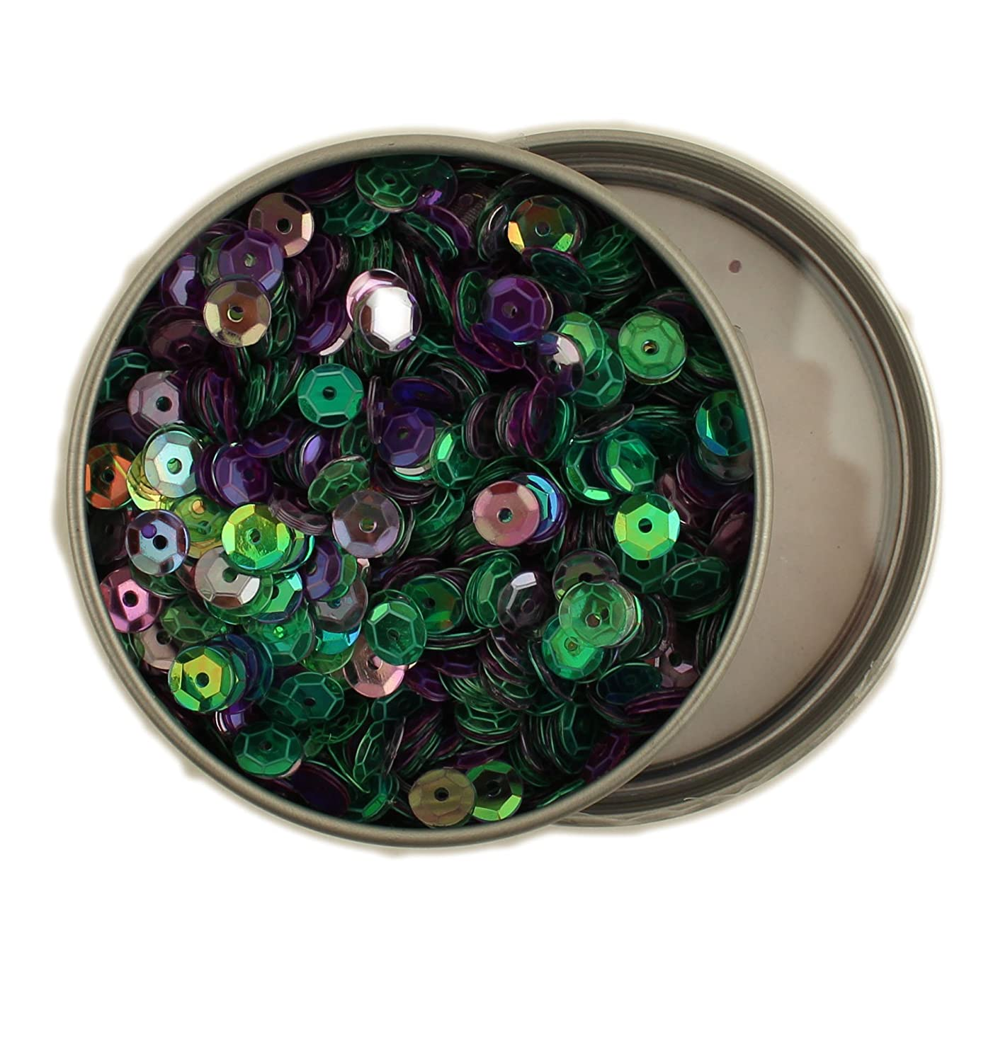 Buttons Galore 335392 28 Lilac Lane Tin W//Sequins 40g Bold /& Bright