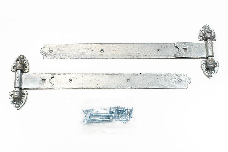 Bisagras de Puerta Heavy Duty pesado Reversible garaje puerta del establo y puerta de muebles