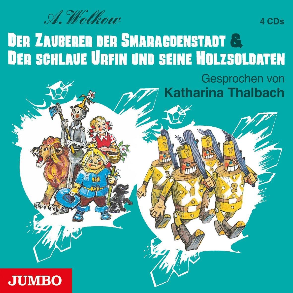 Der Zauberer der Smaragdenstadt & Der schlaue Urfin und seine Holzsoldaten (Alexander Wolkow Märchenreihe)