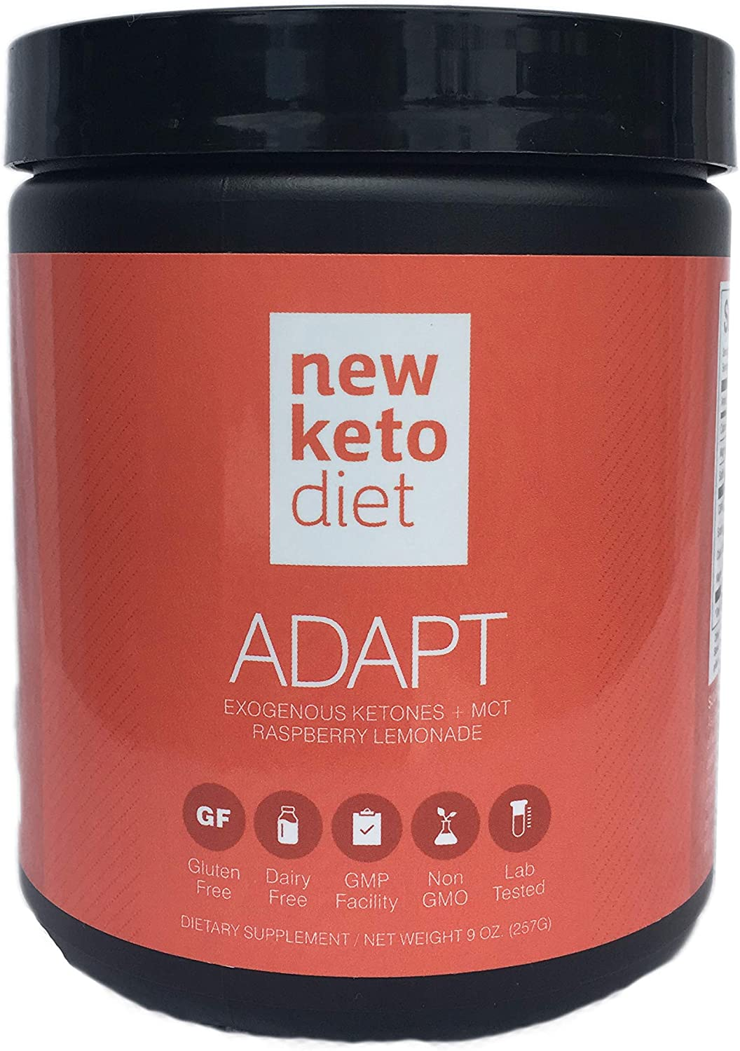 New Keto Diet Adapt- Achieve Ketosis Effortlessly, Sustainable Fat Loss, Increased Energy and Mental Clarity – Patented Exogenous Ketones Blend