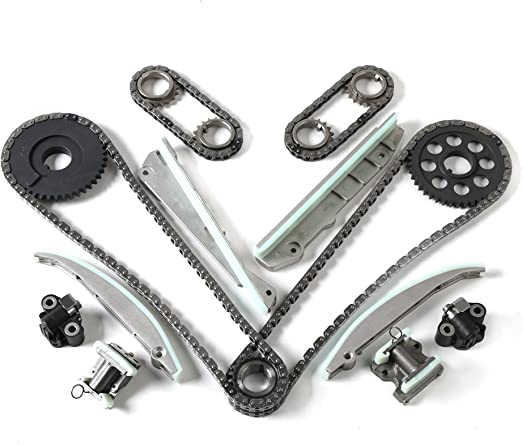 MOCA Timing Chain Kit w//Water Pump for 2003-2011 Ford Expedition E150 F150 Lincoln 2005-2011 Lincoln Navigator