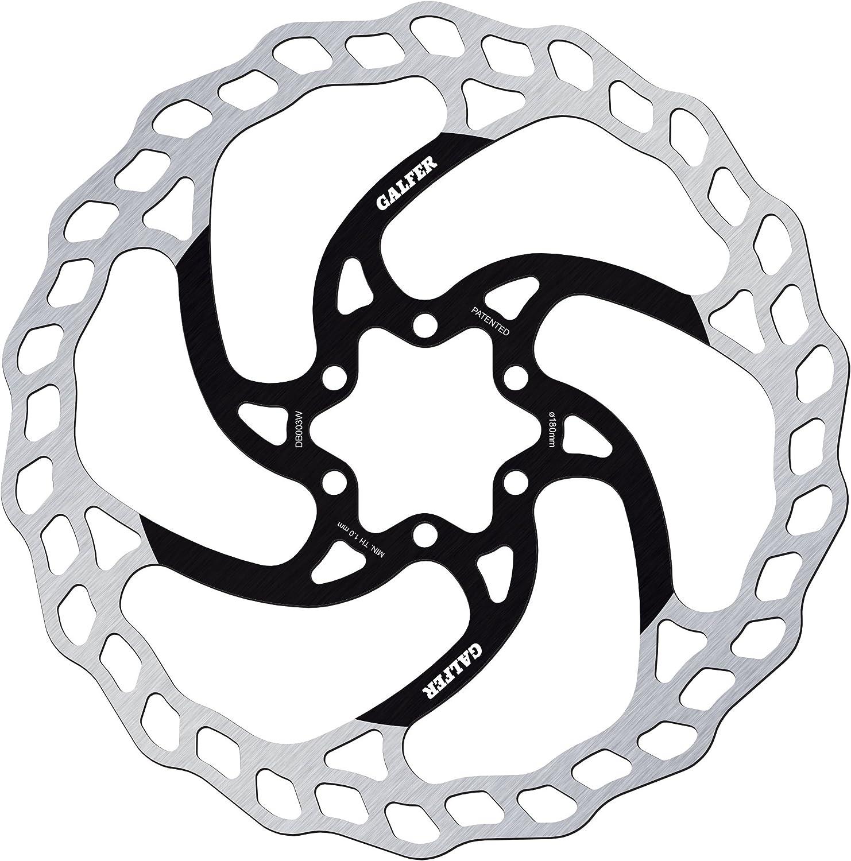 Bremsscheibe Galfer Wave 6 Loch Silber Bremsscheibendurchmesser 180 Mm Sport Freizeit