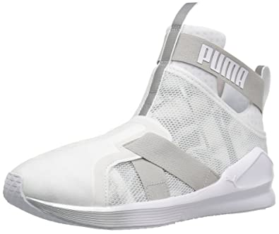 finest selection e86b6 2a7bb PUMA Women's Fierce Strap Swan Wn's Cross-Trainer Shoe