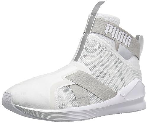 1f950b0d7e4e PUMA Womens Fierce Strap Swan WN s Cross-Trainer Shoe  PUMA  Amazon ...