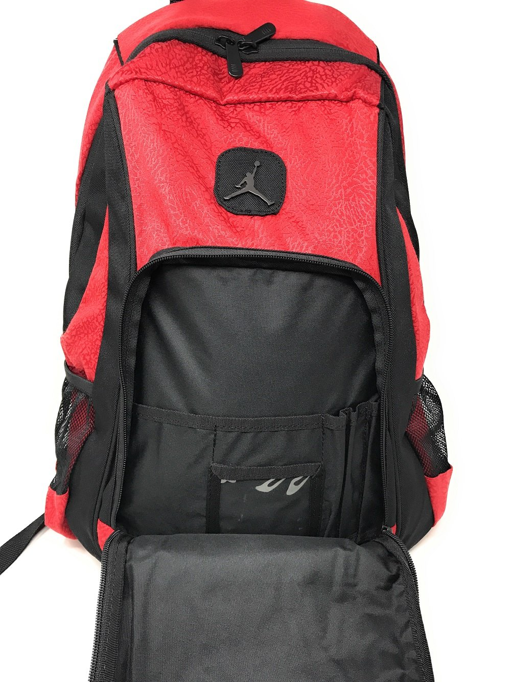 f8f6e59a9d Nike Air Jordan Legacy Elite Noir Rouge Sac à Dos 50,8 cm Sac d'école:  Amazon.fr: Informatique