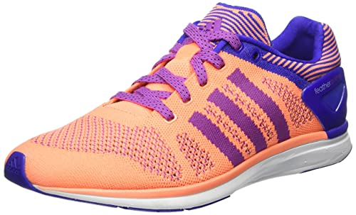 separation shoes da4cb 61645 adidas Adizero Feather Prime Womens Running Sneakers   Shoes-Orange-5