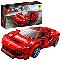 LEGO Speed Champions 76895 Ferrari F8 Tributo Toy Cars for Kids, Building Kit Featuring...