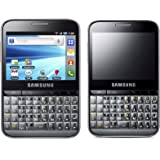 Samsung B7510 Galaxy Pro Unlocked GSM Smartphone with 3 MP Camera, Android OS, Touchscreen, QWERTY keyboard, Wi-Fi, GPS and MicroSD Slot - No Warranty - Silver