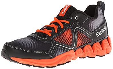 online store b7e53 8a8a5 Reebok Zigkick Wild Running Shoe,Flat Grey Flux Orange Black Silver Metallic